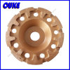 "Cup Shaped T"" Segmented Diamond Cup Grinding Wheel"