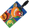 Plastic Luggage Tag with 3D Logo (M-LT01)