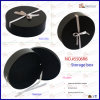 Hat PU Leather Round Storage Box (5506R6)