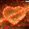 Heart Romatic Wedding Candle and Home Decoration