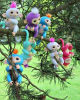 Fingerlings Interactive Baby Monkey Sound Finger Monkey Motion Hanger Toy Xmas Gifts