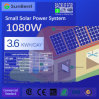 1kw Panel 3.6kwh Daily Consumption Small Solar Power System