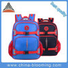 Blue Polyester Boy Children Kids Junior Student School Bag Backpack