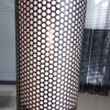 Perforated Metal Mesh Filter Tubes