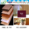 China Manufacutrer PVC Ceiling Wall Panel of Flat Panel for Decoration De PVC