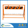 Galvanization Iron Double Sides Road Barrier for Warning Sign in Japan Type