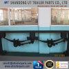 Casting Suspension Underslung 150 Sqaure Axle Beam 75/90 Leaf Spring
