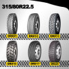 China Radial Tire Double Road, DOT 315/80r22.5 Tubeless Tire