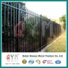 PVC Coated Decorative Welded Steel Picket Fence/Welded Picket Fencing Panel