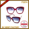 F3574 New Big Frame Women Sunglasses