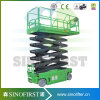 Sinofirst 12m Electric Aerial Scissor Lift Self Propelled Work Platform