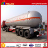 Hot Sale Tri-Axle 58.3 Cbm LPG Tank Trailer