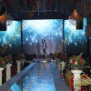 P5 Indoor Rental LED Display Aluminum Extrusions Special Video Wall