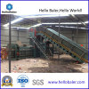 Automatic Waste Paper Cardboard Baler with Conveyor