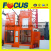 Ce Approved Sc200/200 Series Construction Lift/ Building Construction Hoist Double Cage