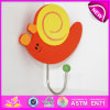 2014 New Lovely Wooden Coat Hook for Kids, Popular Cute Cloth Hook for Children, Hot Sale Colorful Wooden Hook for Baby W09b036