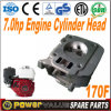 Engine Spare Parts China Iron 7HP 170f Ohv Engine Cylinder Head