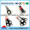 Factory Supplier XLPE/ PE Insulated Aluminum ABC Power Cable Aerial Bundled Cable Wiring