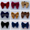 High Quality Velvet Big Size Show Mens Bow Tie Multi Colors