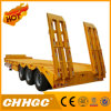 Chhgc 3axle Straight Beam Lowbed Semi Trailer with Gooesneck