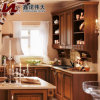 Newest Design Solid Wood Kitchen Cabinet Customized Kitchen Furniture