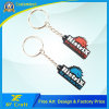 7years Factory Customized PVC Rubber Key Holder for Company Souvenir/Promotion (KC-P58-A)
