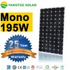 Top Quality Alex 190W 195W Solar Monocrystalline Solar Panel