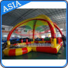 Outdoor Inflatable Square Water Pool with Tent