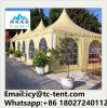Outdoor Aluminum Frame Wind Resistant Transparent Pagoda Tent for Wedding
