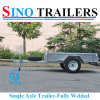 6*4 Higher Side Fully Welded Single Axle Furniture Trailer