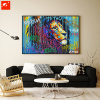 2017 New Design Handmade Oil Painting with Frame