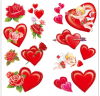 Heart Temporary Tattoo Water Transfer Tattoo Sticker Art Tattoo