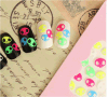 Colourful Fluorescence Water Transfer Nail Art Stickers Nail Sticker
