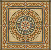 Flower Pattern Carpet Tile Polished Crystal Ceramic Floor Tile 1200X1200mm (BMP24)