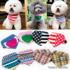 Customize Printing Cute Pet Collars with Cotton Dog Bandanas