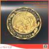 Custom Metal Coin of Gold Plated Use for Promotional Gifts