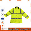Winter Reflective High Visibility Safety Parka Jacket