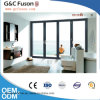Toughened Glass Aluminium Bifold Doors Folding Door Glass with German Hardware