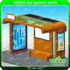 City Center Solar Powered Light Box Bus Shelter