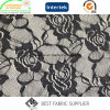 100% Polyamide Rose Patterned Lace Fabric Knitting Fabric Lady′s Dress Fabric