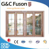 Aluminum European Sliding Door with Double Glazing