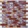 Strip Iridescent Mosaic Glass Mosaic (HGM320)