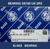 Elges Spherical Plain Bearing Ge160 UK 2RS