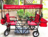 Hot Selling Stable Quality Kids Buggies Go Cart Couple Kids Into