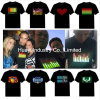 EL LED Light up Flashing Tees