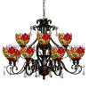 New Design Fashionable Tiffany Crystal Chandelier (TP07002)