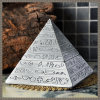 Home Decor Egypt Pyramidsfigure Vintage Ashtray Cenicero Car Cigarette Ashtray (ES-EB-129)