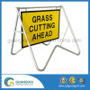 Temporary Traffic Management Warning Street Safety Road Signs Frame