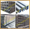 Square Black Welded Steel Pipe Tubes with SGS CE BV