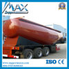 Tri-Alxe V Type Silo Bulk Cement Tank Semi Trailer, Dry Bulk Cement Transport Semi-Trailer